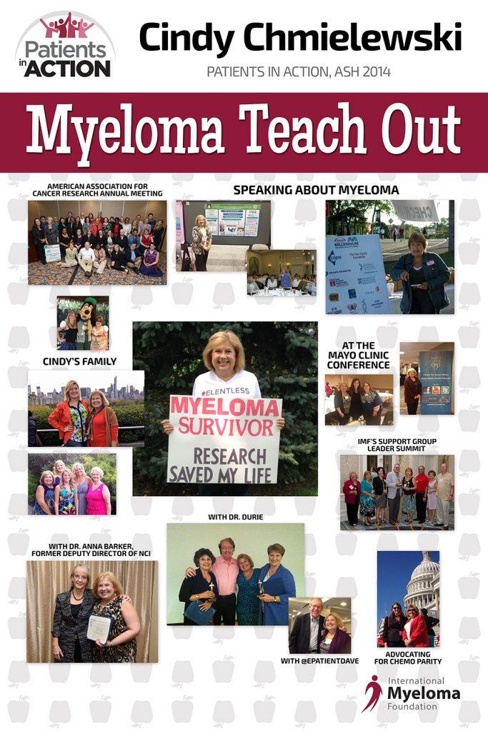 Cindy Chmielewski - Myeloma Teach Out